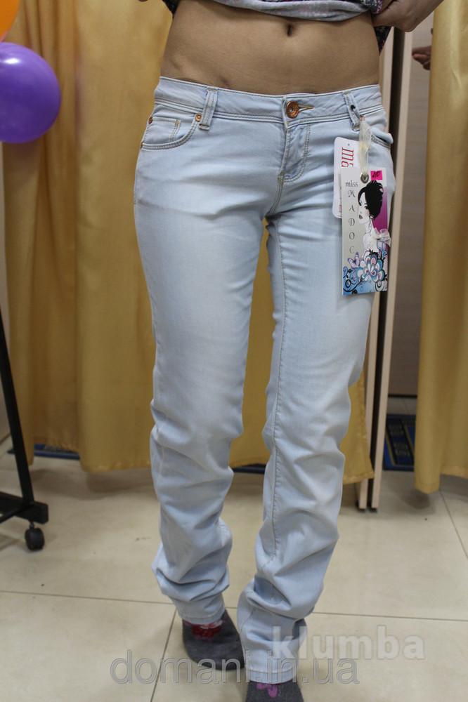 Светлые женские джинсы турция madoc, размер 31 полномерный скинули цену фото №1