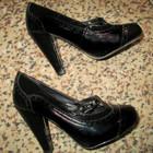 Туфли черные лакированые 36 р.