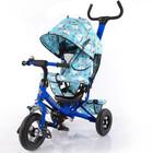 Акция Тилли трайк Кораблик надувные колёса T-351-9 детский трехколесный велосипед Tilly Trike