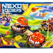 Конструктор Nexo 79238 Безумная колесница Укротителя. Knights нексо найтс