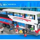 Конструктор Двухэтажный автобус М38-В 0335 Sluban 741 деталей