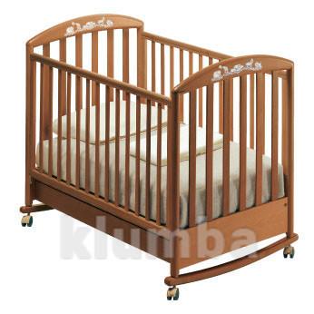 Детская кроватка pali zoo с качалкой фото №1