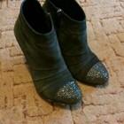 Ботинки из натуральной замши фирмы SharMAN