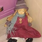 Кукла интерьерная колекционная керамика 23 см
