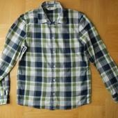 164-170 см H&M отличная фирменная рубашка хлопок. Длина - 67 см, ширина - 48 см, плечи - 41 см, рука