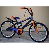 Детский двухколесный велосипед Azimut Stitch Азимут Стич обычный на 12,14,16,18, 20 д