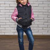 Куртка-бомбер для девочки 162 (3 цвета)