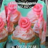 Свитшот для девочки Cupcake