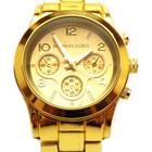 Женские часы Michael Kors Gold (со стразами и без)