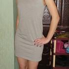 Красивое мини платье р 44-46
