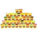 Набор пластилина Play-Doh Mega Pack 36 цветов по 84 г.