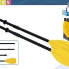 Весла Intex 59623 пластиковые 122см Интекс