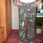 камуфляжные хлопковые штаны  хорошего качества из Америки