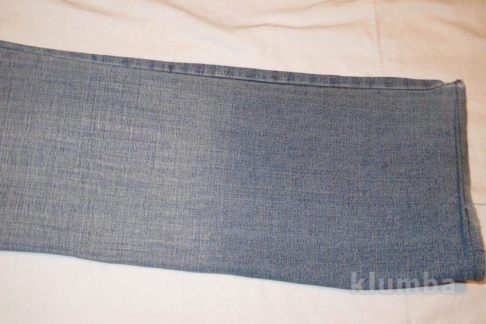 Голубые джинсы с выбеленностью new tius 30 р. фото №9