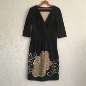 Теплое стрейчевое платье Sara 48/50
