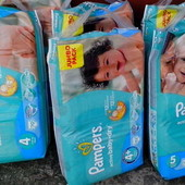 Подгузники Pampers Active baby giant pack памперсы актив бейби