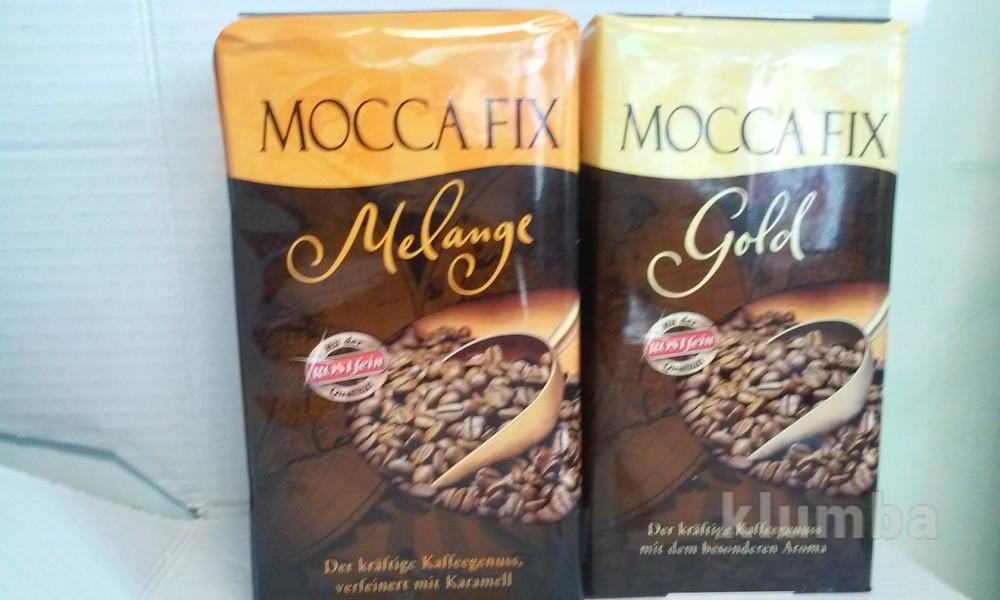 Кофе Moссa Fix мокка фикс молотый натуральный Германия 500гр. фото №1