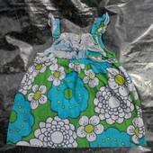 Платье 9-12мес.