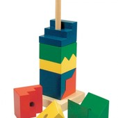 Деревянные пирамидки бино bino