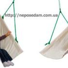 Детские подвесные качели–гамачок-колыбелька с рождения до 15 лет для дома и на природу! Новинка!