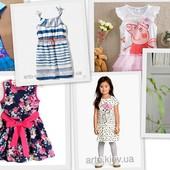 Распродажа остатков  платья для девочек 2 7 лет