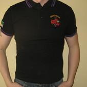 Продам новую мужскую футболку черного цвета