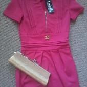 Новое с биркой! Платье розовое молодежное
