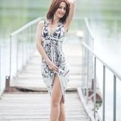 Шикарное платье на вечер или праздничную прогулку из США
