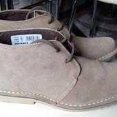 Новые качественные замшевые ботинки Roamers,Великобритания