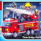 Конструктор Brick 904 Пожарная охрана 364 детали