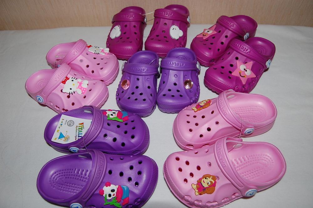Новые кроксы, сандалии,сланцы vitaliya  разные цвета и размеры фото №1