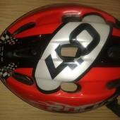 Продам детский велосипедный,роликовый шлем   size 52-56