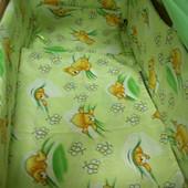Детское постельное белье из 9 предметов!