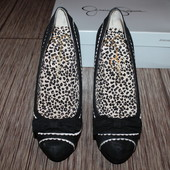 Шикарные замшевые туфли essica Simpson (джессика симпсон). Америка, Оригинал