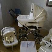 Продам коляску Emmaljunga Mondial Duo Сombi 3 в 1