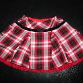 Продам стильную нарядную юбку St.Bernard 9-12 мес состояние новой