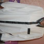 Рубашка хлопковая мужская с орнаментом - 42 размер