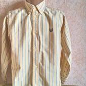 Рубашка с длинным рукавом  ( желтая) для мальчика 7 лет ( 122 -128) Chaps