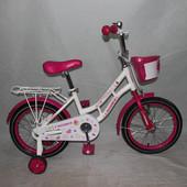 Кросер Русалка 14 16  велосипед детский Crosser Mermaid двухколесный девочки