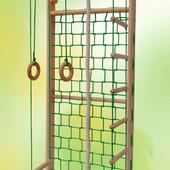 Спортивный уголок Гладиатор сосна, гладиаторская сетка, от производителя, 2051-52