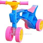 Каталка Ролоцикл ТМ Технок четырех колесный