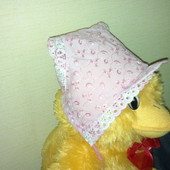 Летние головные уборы для девочки