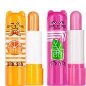 Восстанавливающий крем-бальзам для губ Кошка Мята и Кот Апельсин от Faberlic