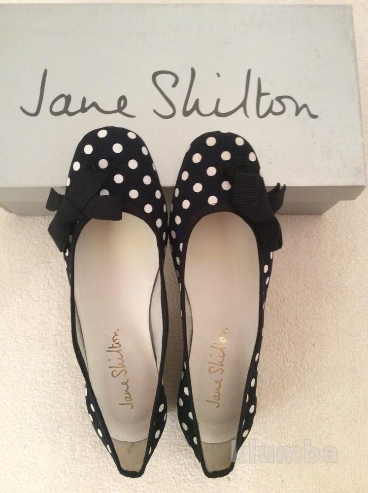Туфли балерина в горошек jane shilton aнглия  фото №1