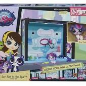Распродажа  - Литл Пет Шоп Стильный игровой мини-набор  от Hasbro