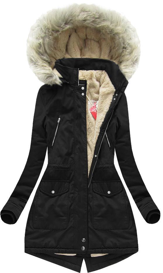 e526c2e1c4c Женская зимняя куртка парка на меховой подклалдке фото №1