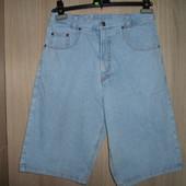 Шорты джинсовые подросковые пояс76-84см(176)