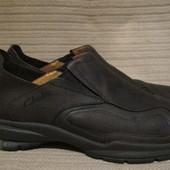Комфортные туфли из промасленного нубука Clarks active air. Англия. 10 12.