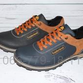 Мужские кожаные кроссовки в стиле Timberland, 2 цвета, модель R56 и R58