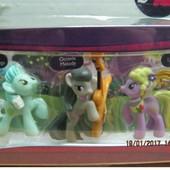 Распродажа - Мини-набор Пони с новыми персонажами от Hasbro